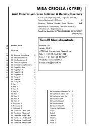 MISA CRIOLLA (KYRIE) - Tierolff Muziekcentrale