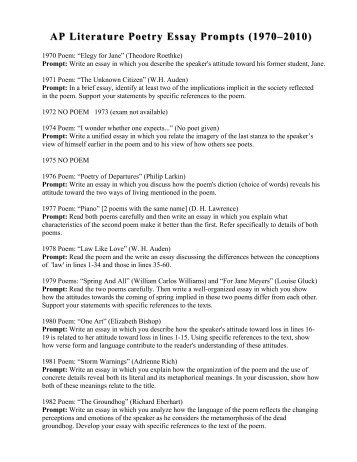 ap essay questions hamlet Ap essay questions for hamlet - there may be evaluated by william shakespeare's hamlet: characterization my college experience essay.