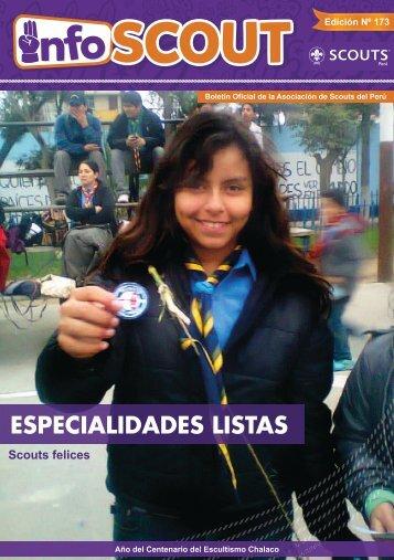 ESPECIALIDADES LISTAS - Scouts del Perú