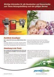 Wichtige Information für alle Hausbesitzer und Hausverwalter zum ...