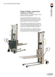 HS / EHS ROSTFREI-SEMI Stapler RF-SEMI - hygienisches ...