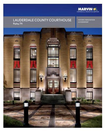 lauderdale county courthouse - Marvin Windows and Doors