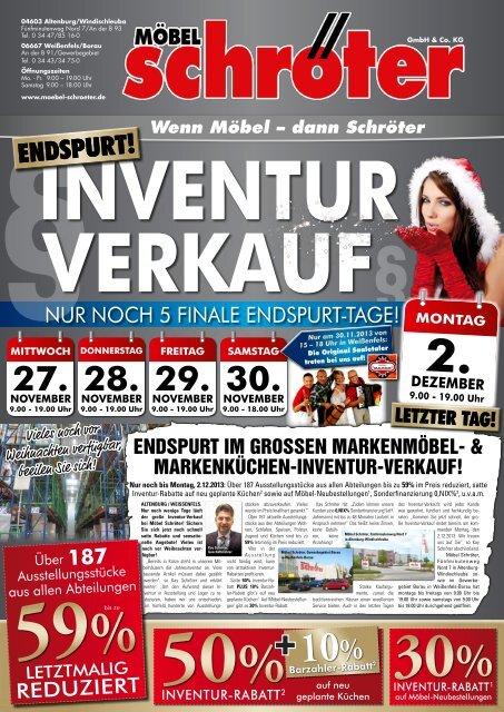 Nur Noch 5 Finale Endspurt Tage Möbel Schröter In Altenburg