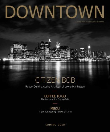 CITIZEN BOB - Downtown Magazine