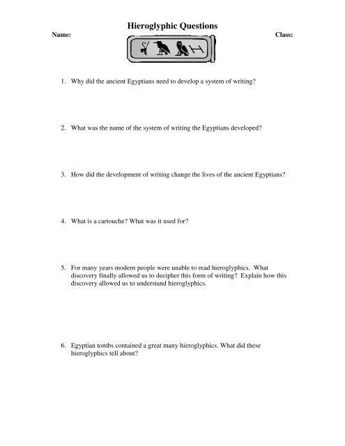 3. Hieroglyphic Worksheets.pdf