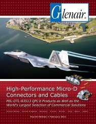 High-Performance Micro-D Connectors and Cables - Pan Pacific ...