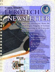 Newsletter VIII (2000-2001) in PDF-format - School of Engineering ...
