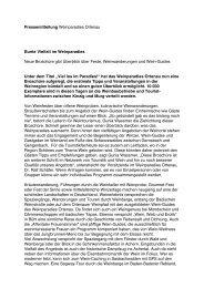 Pressemitteilung Weinparadies Ortenau Bunte ... - SuWa Wortwahl