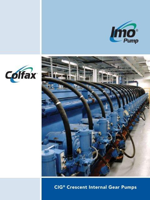 CIG® Crescent Internal Gear Pumps - Imo Pump