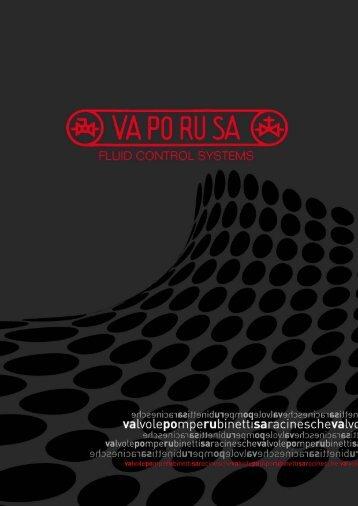 VA.PO.RU.SA. SpA Via Messedaglia 6/A 37135 VERONA