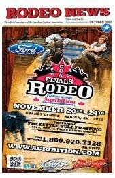 OCTOBER 2012 - Canadian Cowboys Association