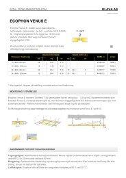 Produktdata/FDV Ecophon Venus E - Glava