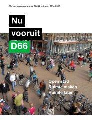 Verkiezingsprogramma-D66-Groningen-2014-2018_lowres