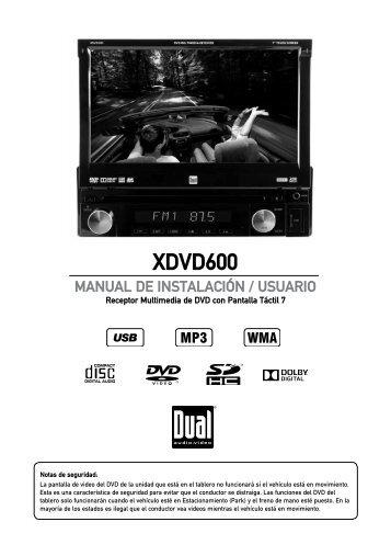 XDVD600 - Dual Electronics