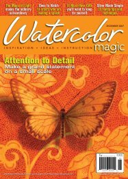 Watercolor Magic, December 2007 - F+W Media