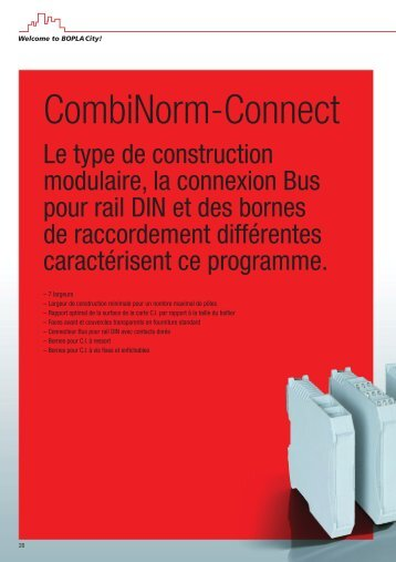 CombiNorm-Connect - Bopla
