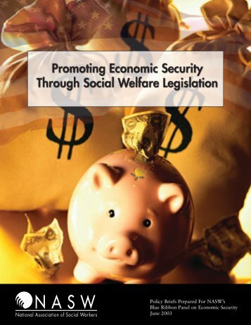 Policy Briefs Prepared For NASW's Blue Ribbon Panel on Economic ...
