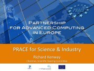 PRACE for Science & Industry