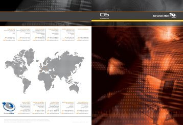 Brand-Rex Cat6 - info@c3comunicaciones.es