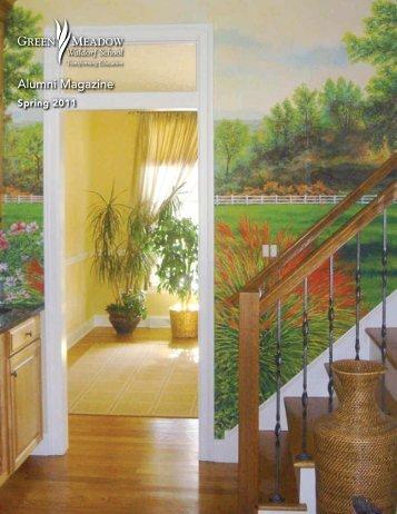 Alumni Magazine Spring 2011 - Green Meadow Waldorf School