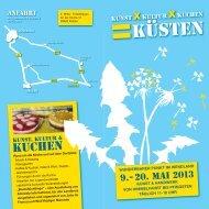 Flyer & Programm - Anna Anderson