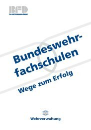 Bundeswehrfachschulen - Ziviler Arbeitgeber Bundeswehr
