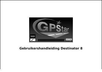 Gebruikershandleiding Destinator 8 - GPStar