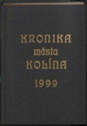 Kronika 1999 Barevné provedení (21,8 MB) - Kolín