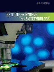 IHB E Imagebroschure mail (PDF, 1715 KB) - Hohenstein Institute