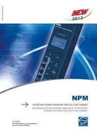 network power manager special for cabinet ... - Brodinger.at