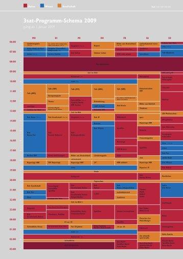 3sat-Programm-Schema 2009