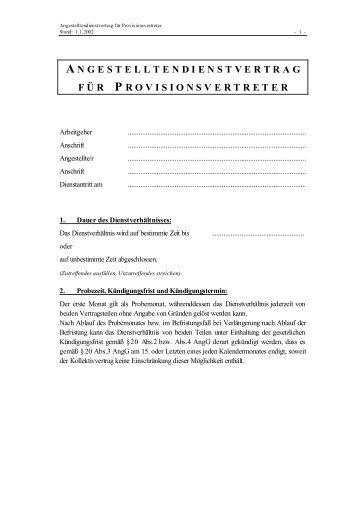 Dienstvertrag Angestellte Arbeitskräfteüberlasser