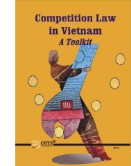 Competition Law in Vietnam: A Toolkit - Consumer Unity & Trust ...