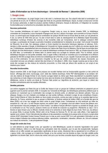 1. Google Livres - Université de Rennes 1
