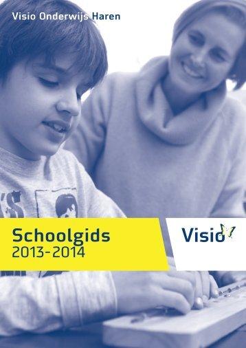Schoolgids 2013-2014 - Visio