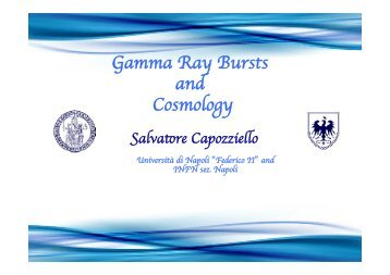 Gamma Ray Bursts and Cosmology