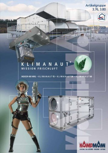 Kampmann Klimanaut Indoor WRG 400 ... - Hohage & Co.