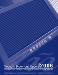 2006 Network Brownout Report - National Association of Hispanic ...