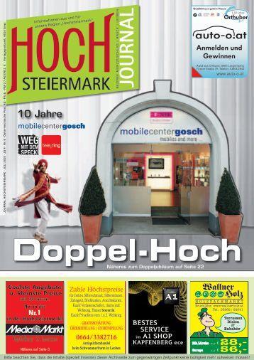 Anmelden und Gewinnen - Hochsteiermark Journal