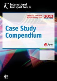 Case Study Compendium Seamless Transport: Making Connections ...