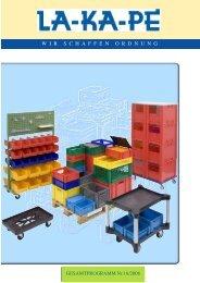 Fördertechnik Inkl. Behälter aus ALU - Kunststoff in alle