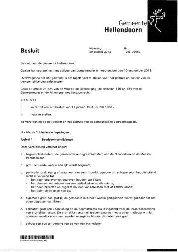 Gemeente Hellendoorn llllll IMIIMIIIIIIIMII Besluit - Raads