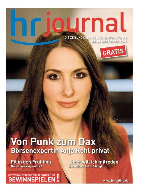Von Punk Zum Dax Hessischer Rundfunk