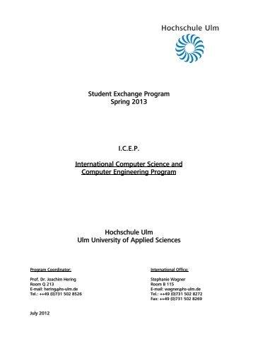 Download - Hochschule Ulm