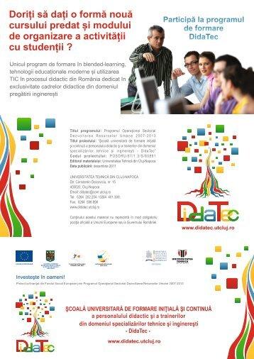 14_Pliant_program_formare_CS5_ULBS - Universitatea Tehnică