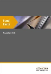 Fund Facts - JP Morgan Asset Management