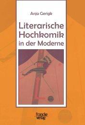 Literarische Hochkomik in der Moderne - narr-shop.de