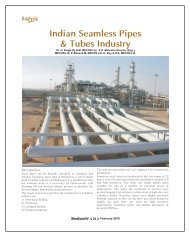 Indian Seamless Pipes & Tubes Industry - Steelworld