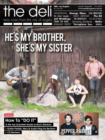 he's my brother, she's my sister - The Deli