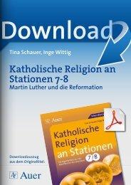 Katholische Religion an Stationen 7-8
